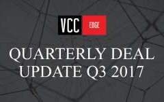Quarterly Deal Update Q3 2017
